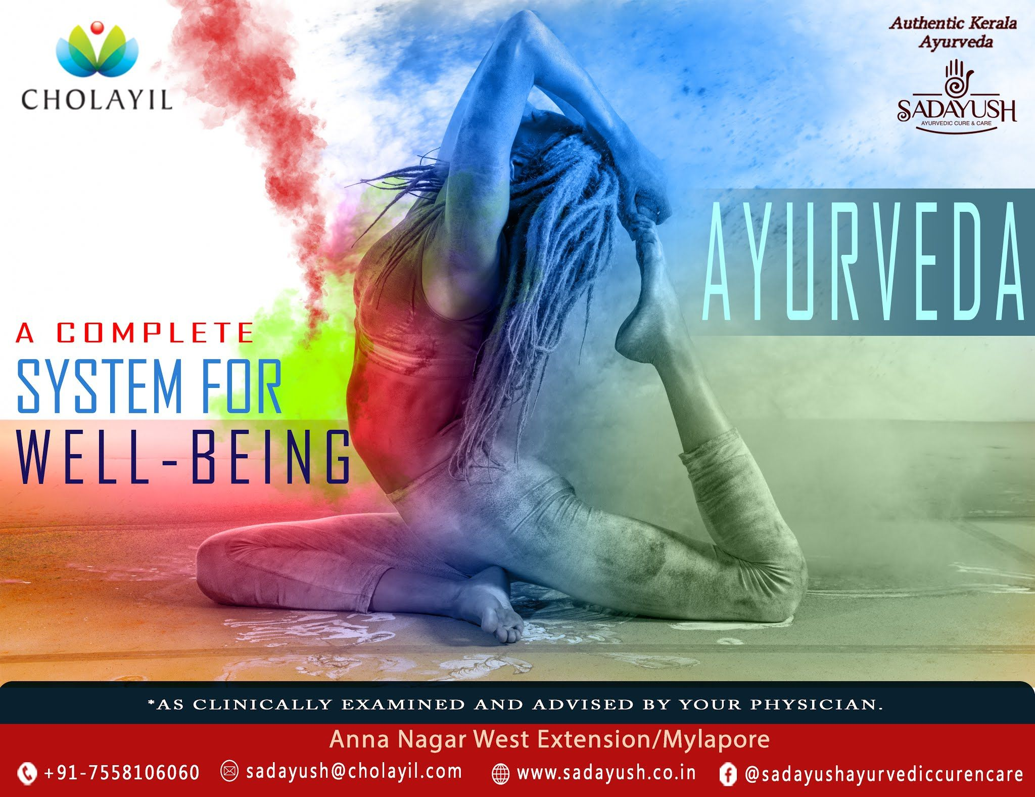 Ayurveda: A complete system for well-being  Sadayush