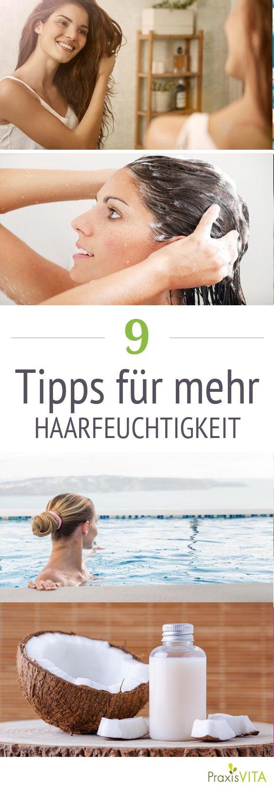 feuchtigkeit f r die haare 9 tipps vitalife pinterest haare pflegen pflege und trockene. Black Bedroom Furniture Sets. Home Design Ideas