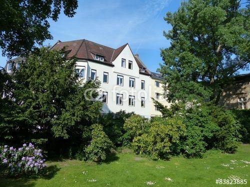 Rochdale Park an der Heeper Straße in Bielefeld in Ostwestfalen-Lippe im Teutoburger Wald