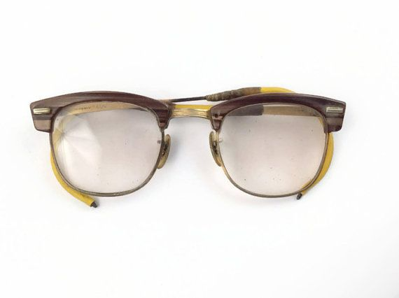 03c17b940b 1950s Bausch and Lomb gold filled guys working man glasses authentic  vintage eyewear on Etsy