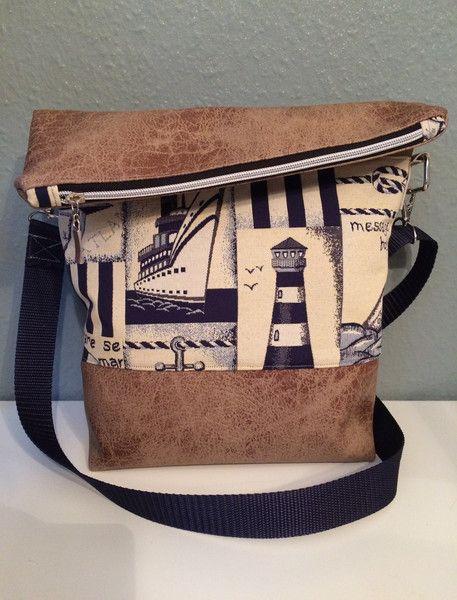 e1be278c53f1e Umhängetaschen - FoldOver Tasche mit Außenfach