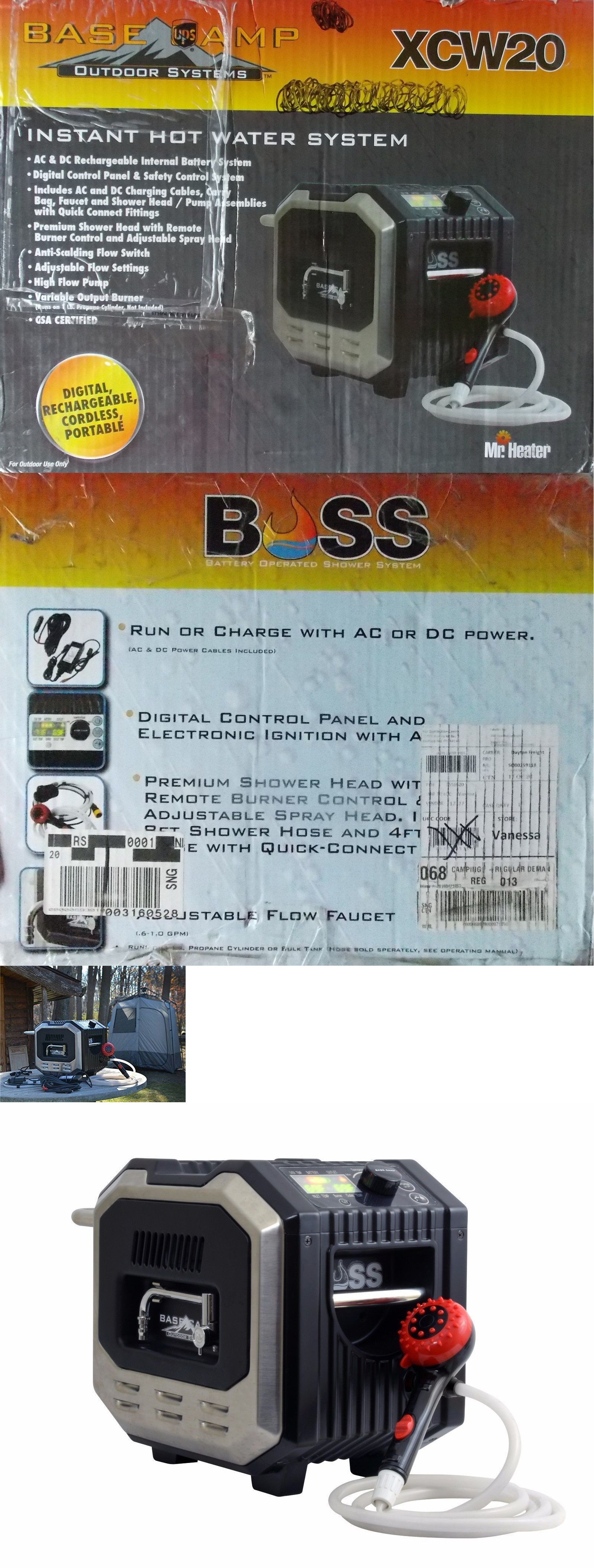Hot Water Heater Accessories Portable Showers And Accessories 181396 Mr Heater Boss Instant
