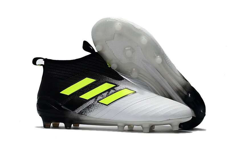 super popular 6551b a8642 adidas ACE 17+ Purecontrol FG BlackYellowGray soccer cleats