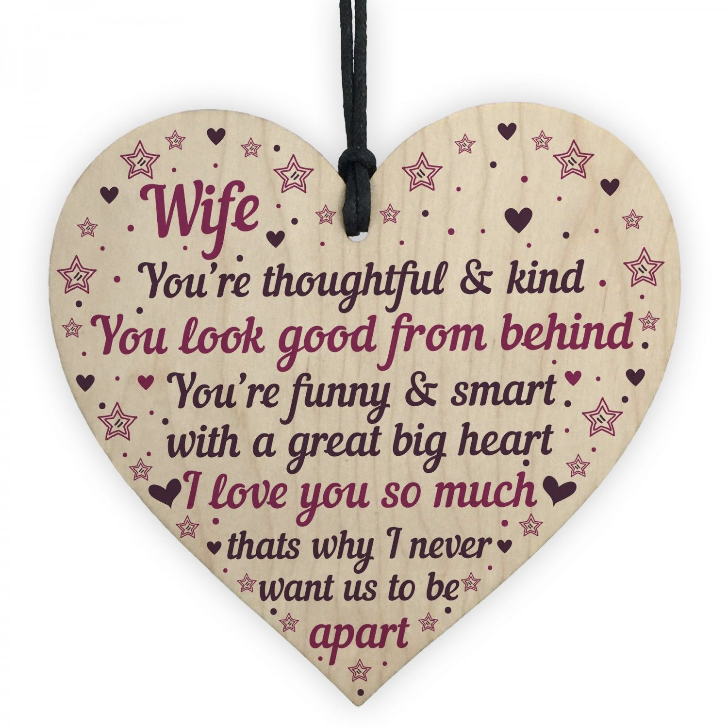 wife anniversary cards heart wife birthday card gift thank