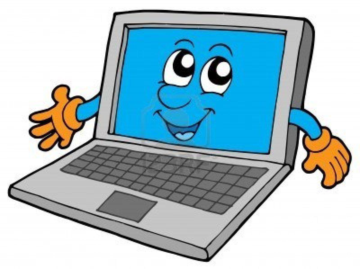Ноутбук картинки для детей, картинка анимация поздравительные