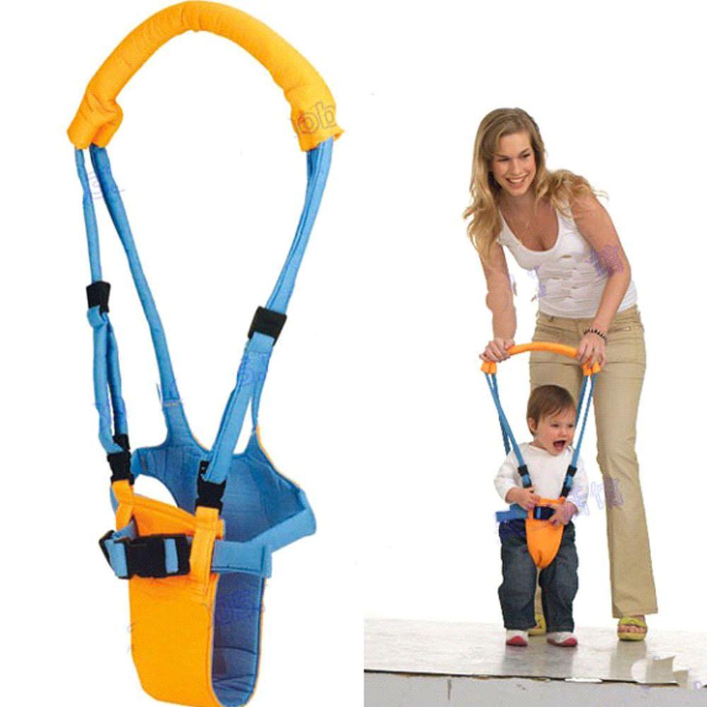 Color : Blue Walk Safety Belt Harness Walker Baby Toddler Leashes Walking Assistant Learning