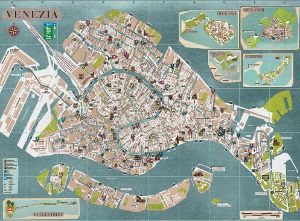 Fuorirotta The other map of Venice Z Venecia Bentky Venedig