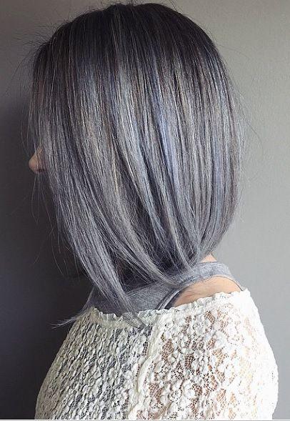 Mane Interest Hair Styles Blue Grey Hair Short Hair Styles