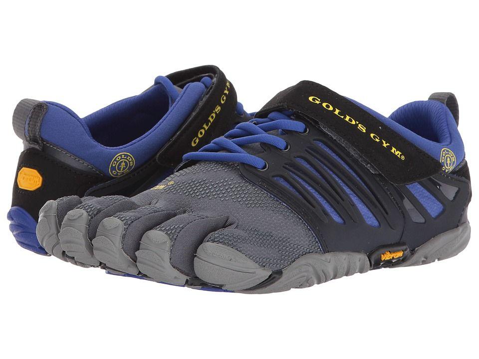 quality design 0de25 9c157 337ad 0f2e0  germany vibram fivefingers v train golds gym womens shoes  black grey reflex blue 38a23 e7a48