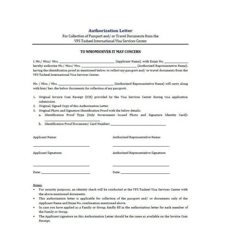 31 Free Authorization Letter Samples Ms Office Documents Letter Sample Lettering Lettering Download