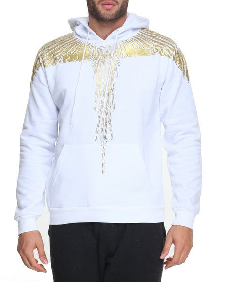 Find Stoned Wings Pullover Hoodie Men's Hoodies from Hudson NYC