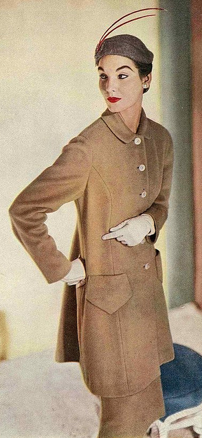 Sherry Nelms, Vogue Aug. 1953 <3