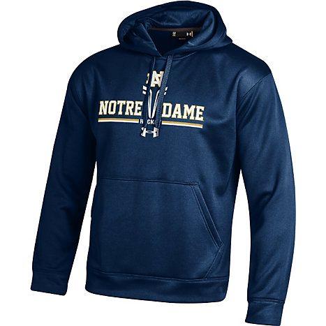 Notre Dame Under Armour Hockey Sport Fleece Hooded Sweatshirts Performance Hoodie Under Armour Hoodies