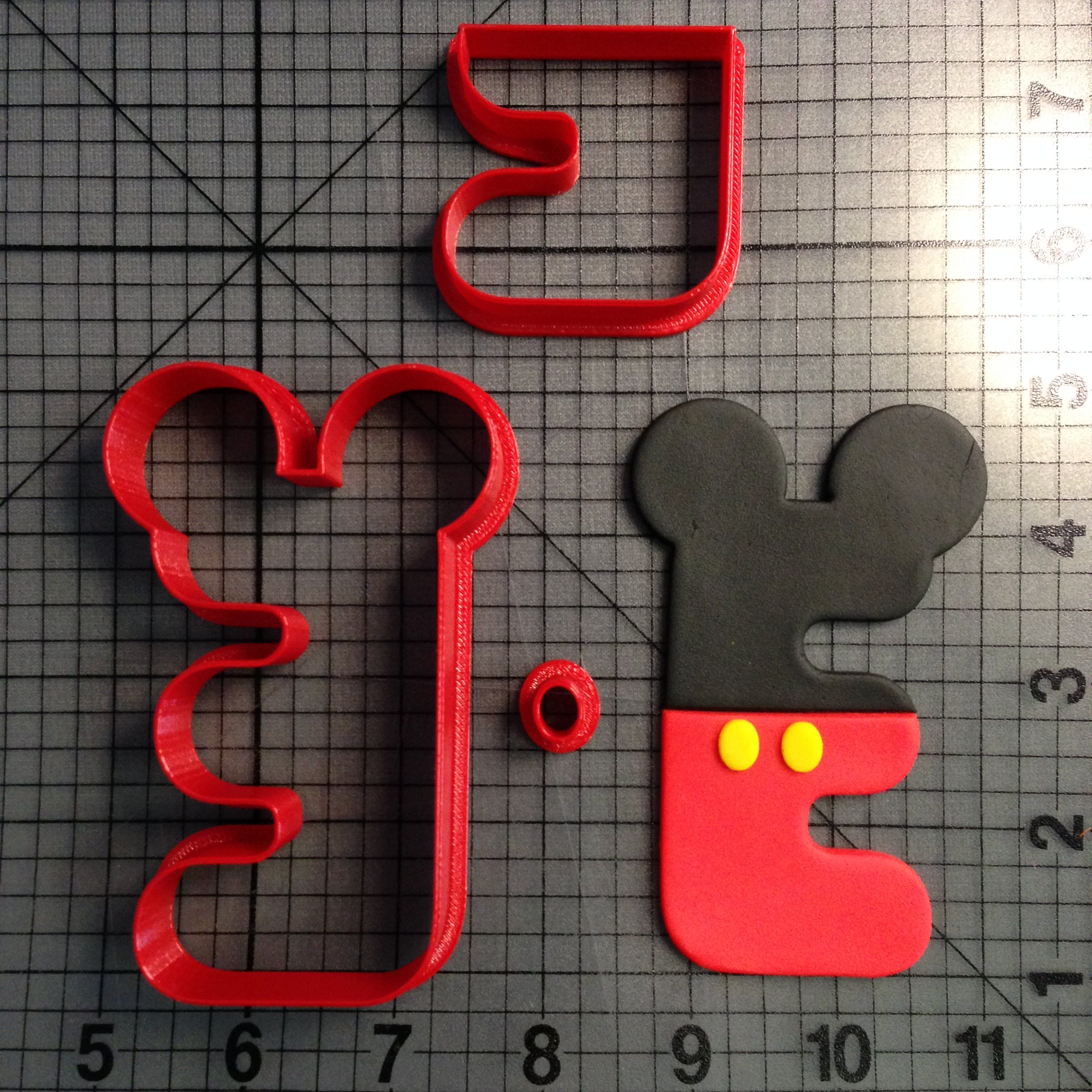 Mouse Letter A Cookie Cutter Set
