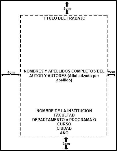 Portada Trabajo Escrito Normas Icontec 2017 School