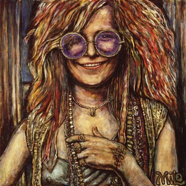 Janis Joplin... true legend.. raw and bold talent.. voice ...