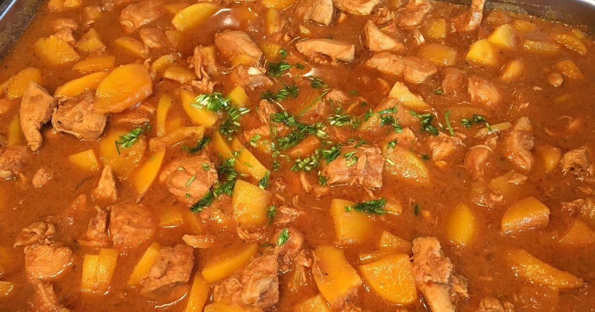 recept pilav met kip en perzik