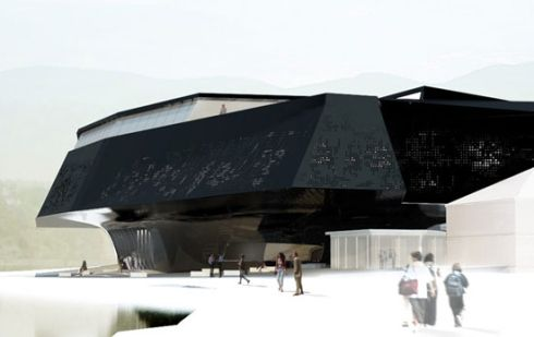 David Tajchman Mimarlık: Gizlilik -Yeni Maribor Müzesi