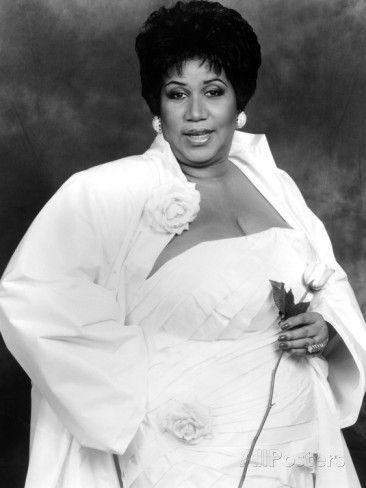 Aretha Franklin Photographic Print By Vandell Cobb