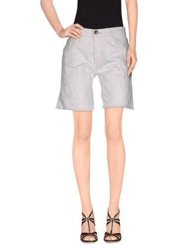 Denim bermudas by Current/Elliott, Women's, Size: 24, White