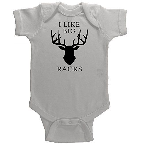 Daddy/'s Hunting Buddy Baby Boy Onesie I Love Racks Like Daddy Deer Funny