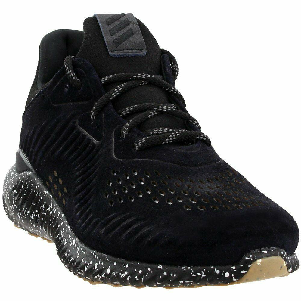 chaussures de séparation 5704f 4c942 eBay Sponsored) adidas Alphabounce Lea Running Shoes - Black ...