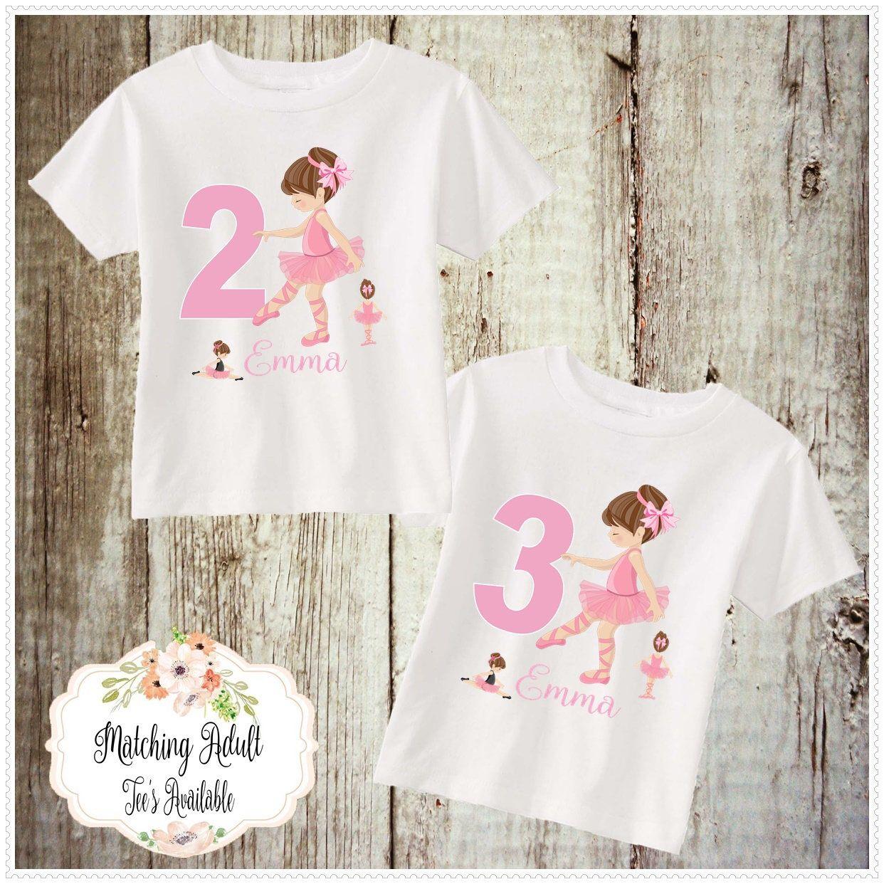 Ballerina Birthday T-shirtBody