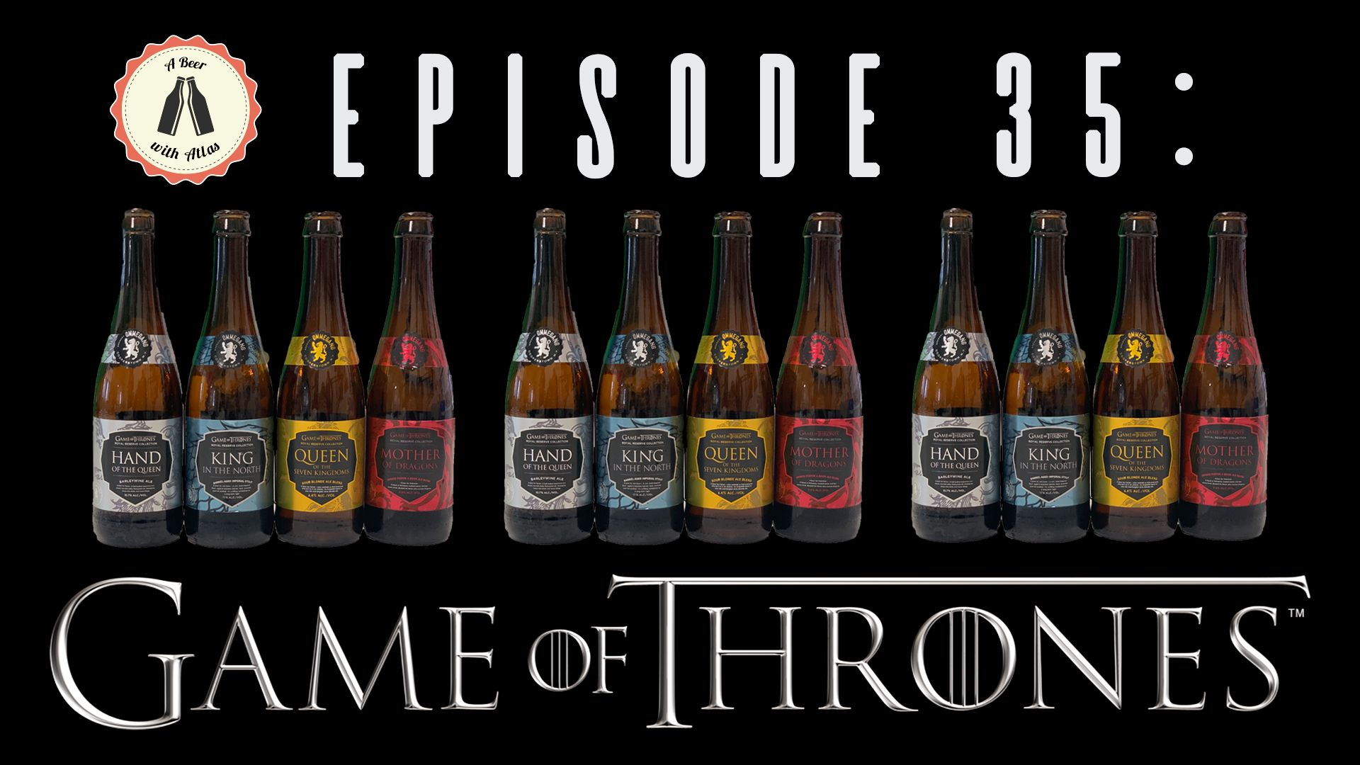 This week, we drink 4 different beers from Ommegang