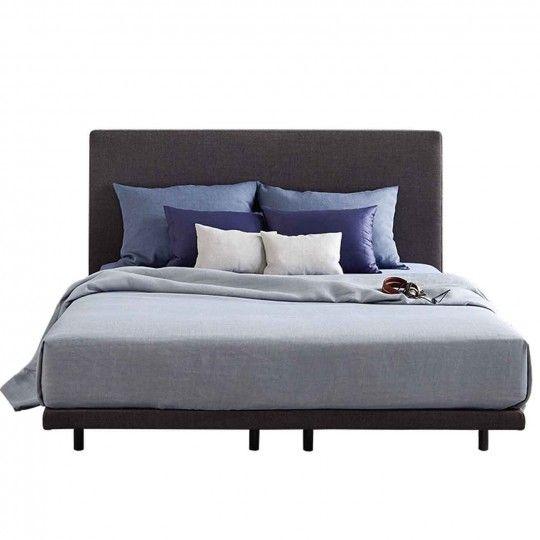 Bett 140 x 200 cm weiss Woody 16700026 Bett ideen, Bett