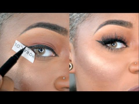 how to do winged eyeliner for dummies  in depth talk