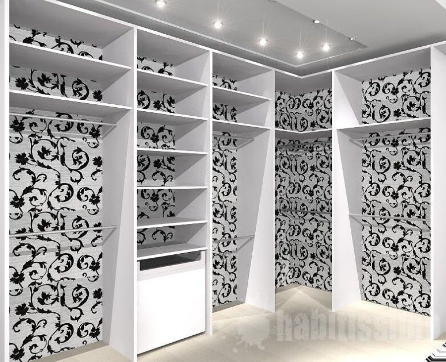 Que papel de parede perfeito closet pinterest closet - Papel pared barato ...
