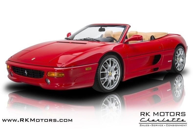 1997 F 355 1997 Ferrari F 355 Rosso Corsa Spyder 3 5 L Dohc V8 6 Speed Manual Porsche Supercars Luxury Italia Car Ferrari Classic Cars Ferrari Italia