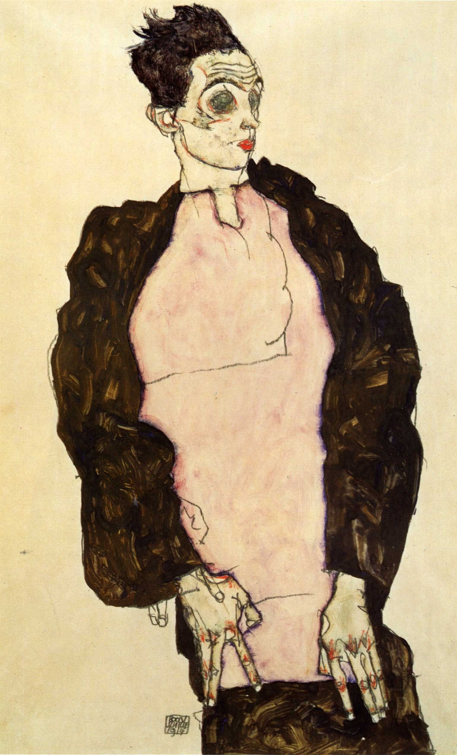 essay on egon schiele portrait of paris von gutersloh This item: trademark fine art portrait of paris von gutersloh by egon schiele, 14x19-inch canvas wall art set up a giveaway there's a problem loading this menu right now.