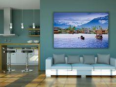 Free Artwork Living Room Wall Mockup