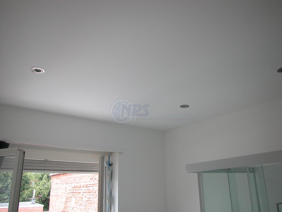 NPS spanplafond - badkamer | spanplafonds, spanwanden | Pinterest