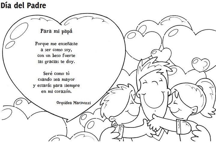 poesia por el dia del padre - Buscar con Google   Lugares para ...