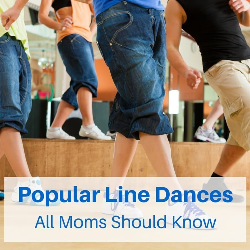 A List of Popular Line Dances Moms Should Know Country