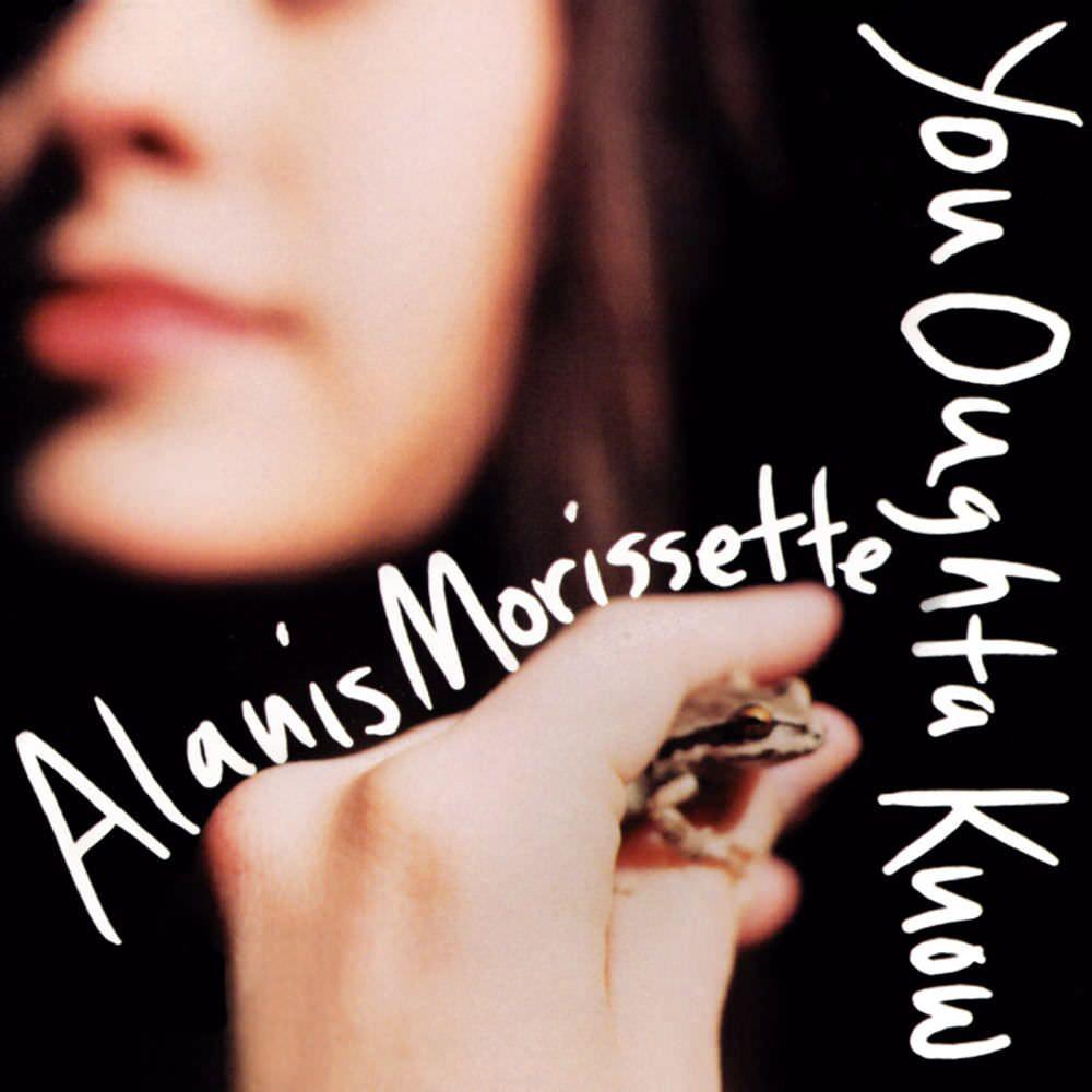 Alanis Morissette – You Oughta Know (single cover art)