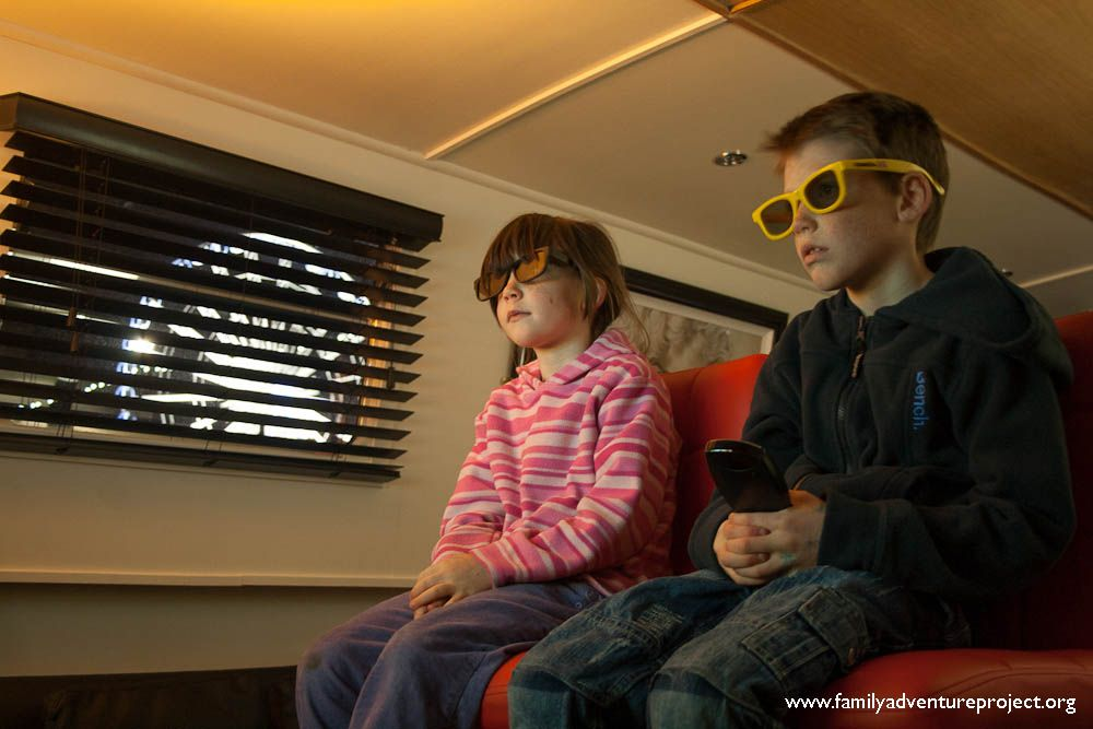 The Goggle Box... how do you prise your kids away from it?