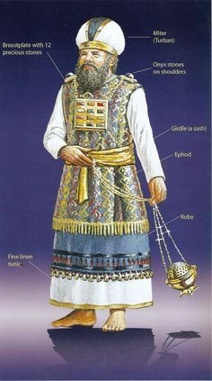 priestly garments meaning sai garments