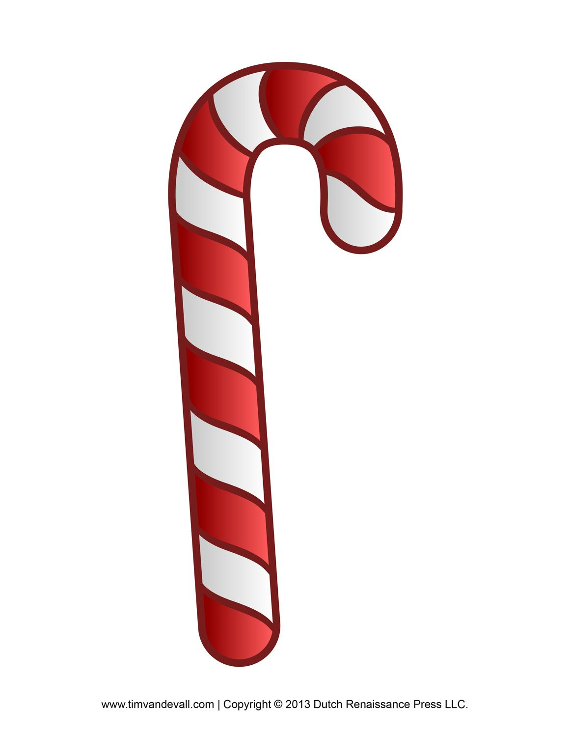picture about Printable Candy Cane named Sweet Cane Crafthubs backgrounds, clipart, pictures and so on