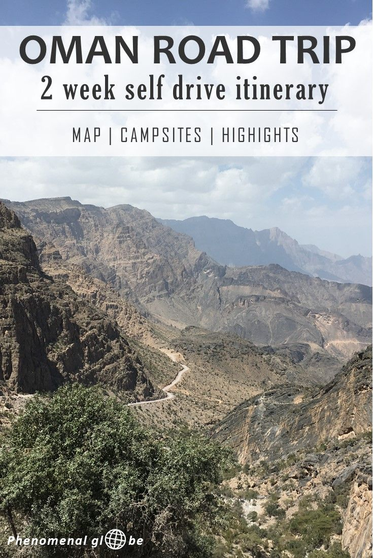 2 week self drive itinerary for Oman