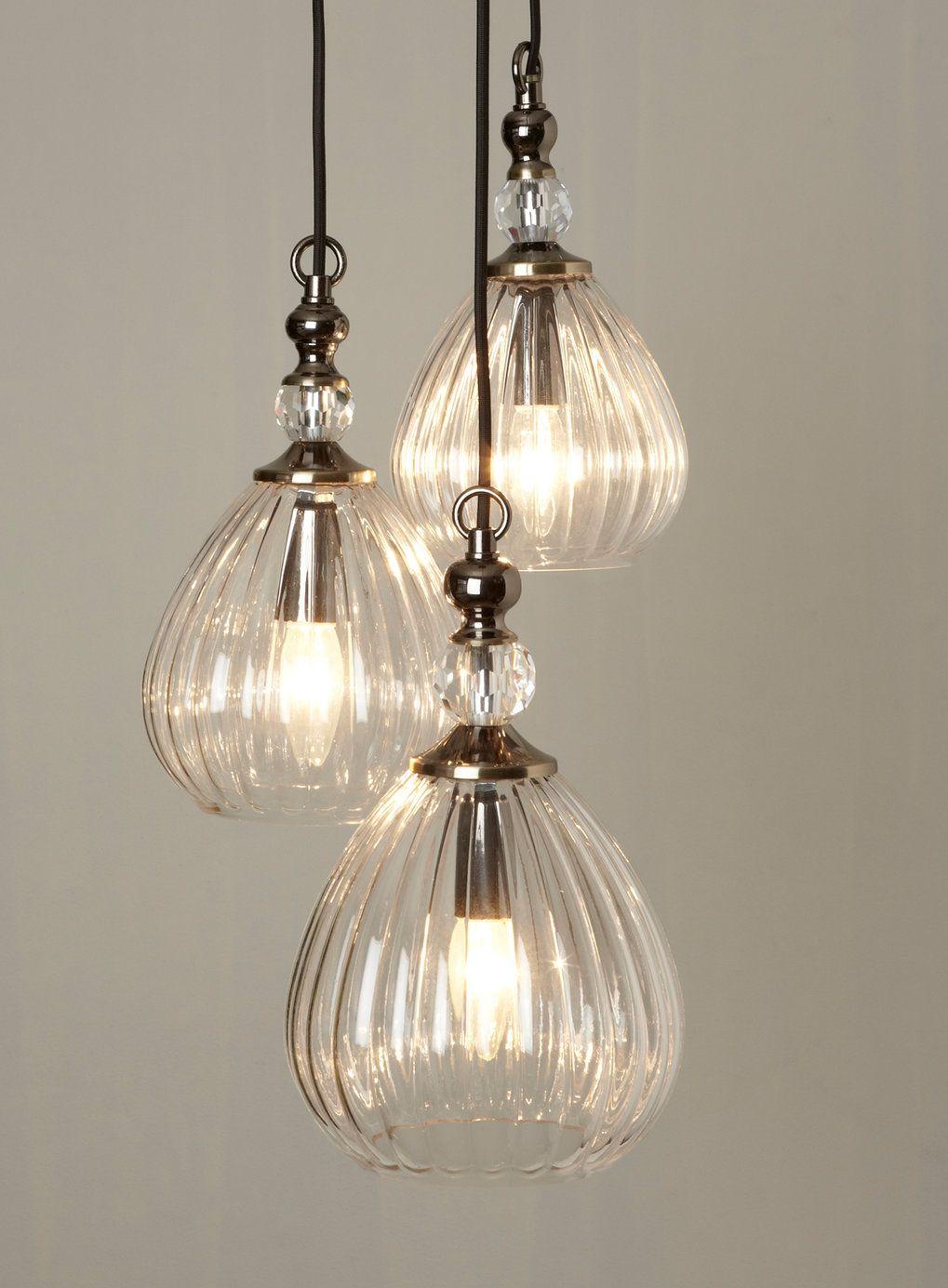Mirielle 3 Light Cluster Ceiling Lights Home, Lighting