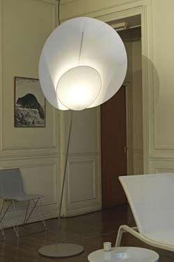 lampadaire papier japonais