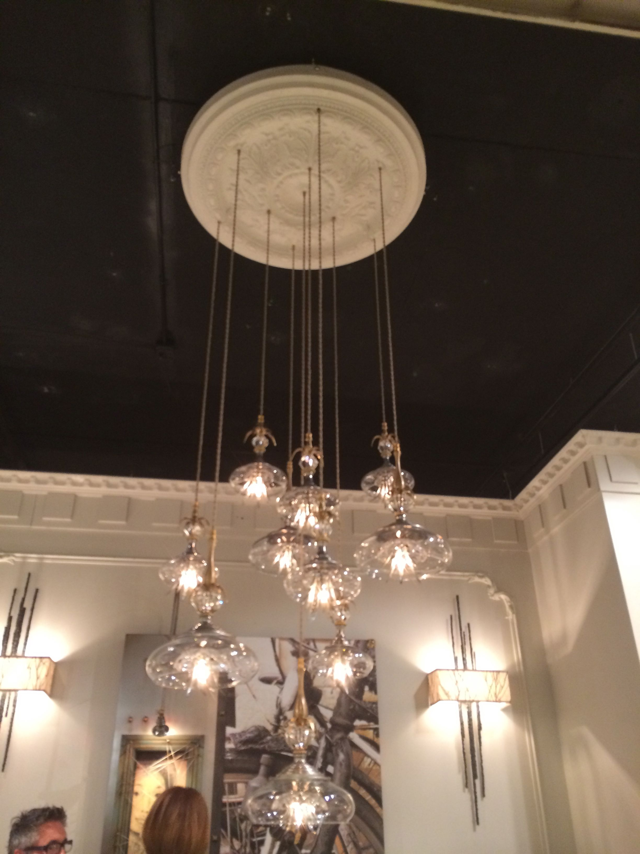 Statement Lighting Adds Instant Glamour To Any Space Clustering