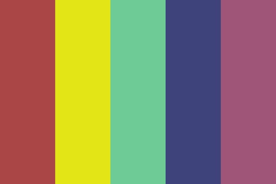 Too Bad Color Palette | Color palette, Color, Color schemes