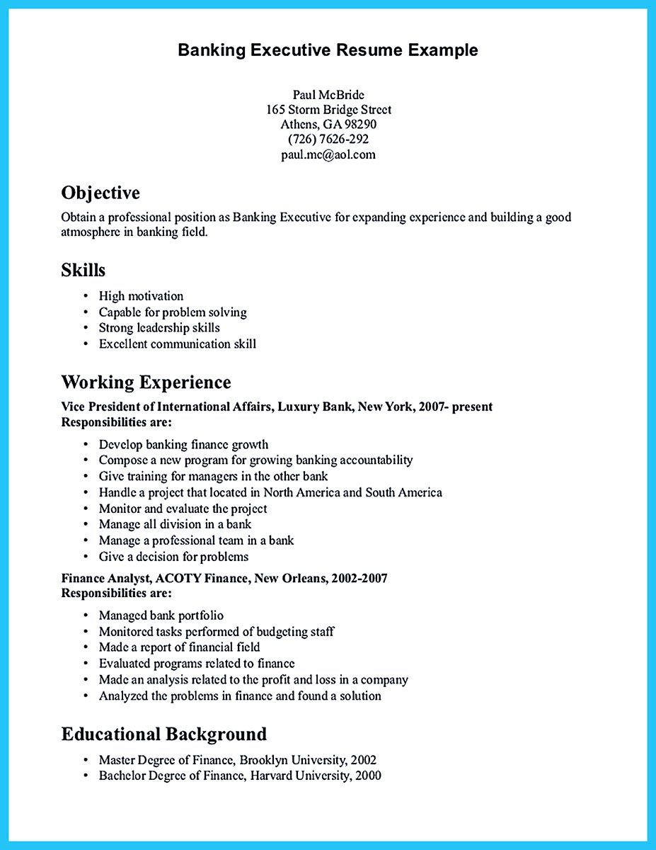 Beste Lebenslauf Bankmanager Position Galerie - Entry Level Resume ...