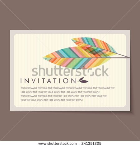 Beautiful Vintage Invitation Cards Layouts  Invitation Templates