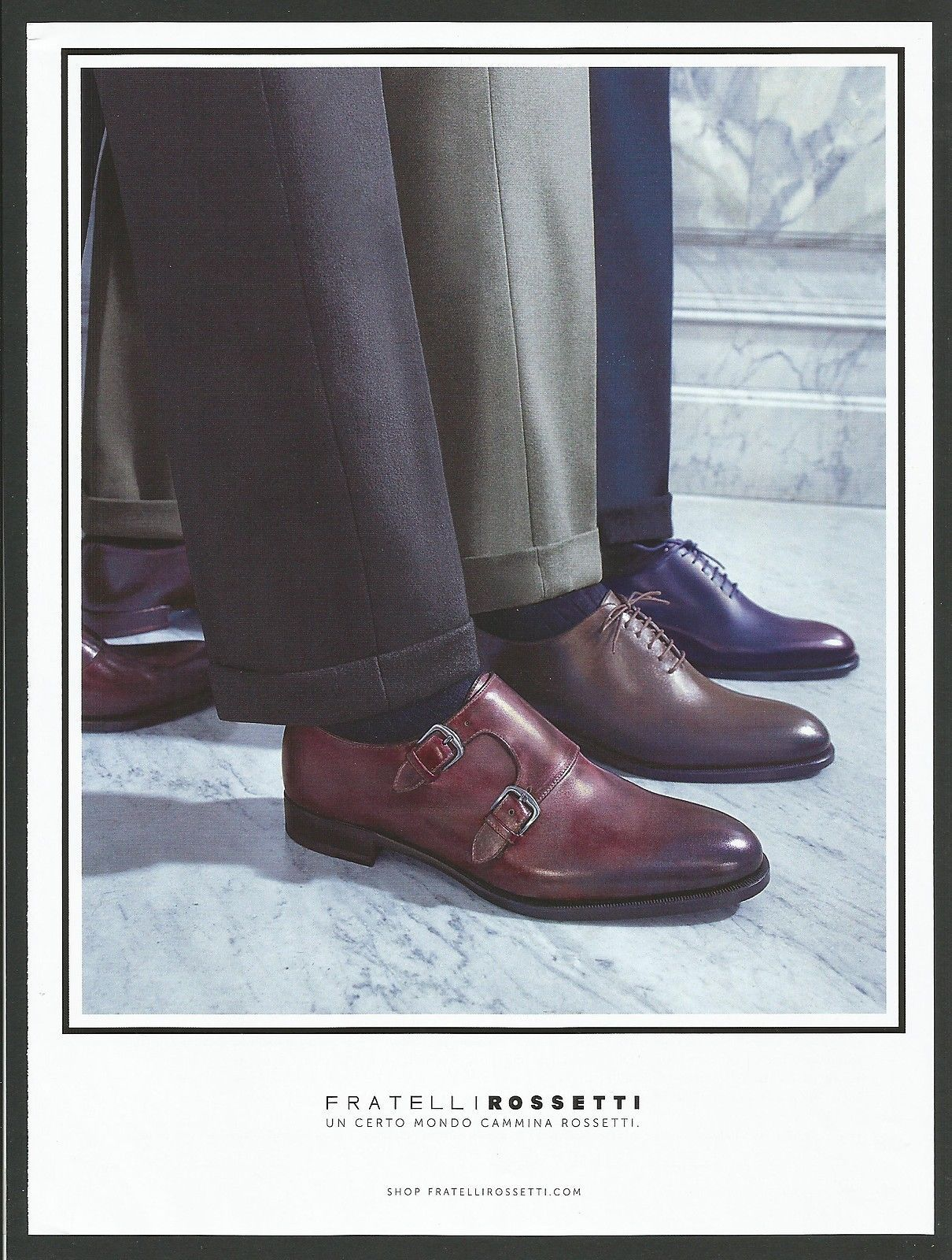 FRATELLI ROSSETTI Luxury Shoes Print Ad # 24 4 • $5.99