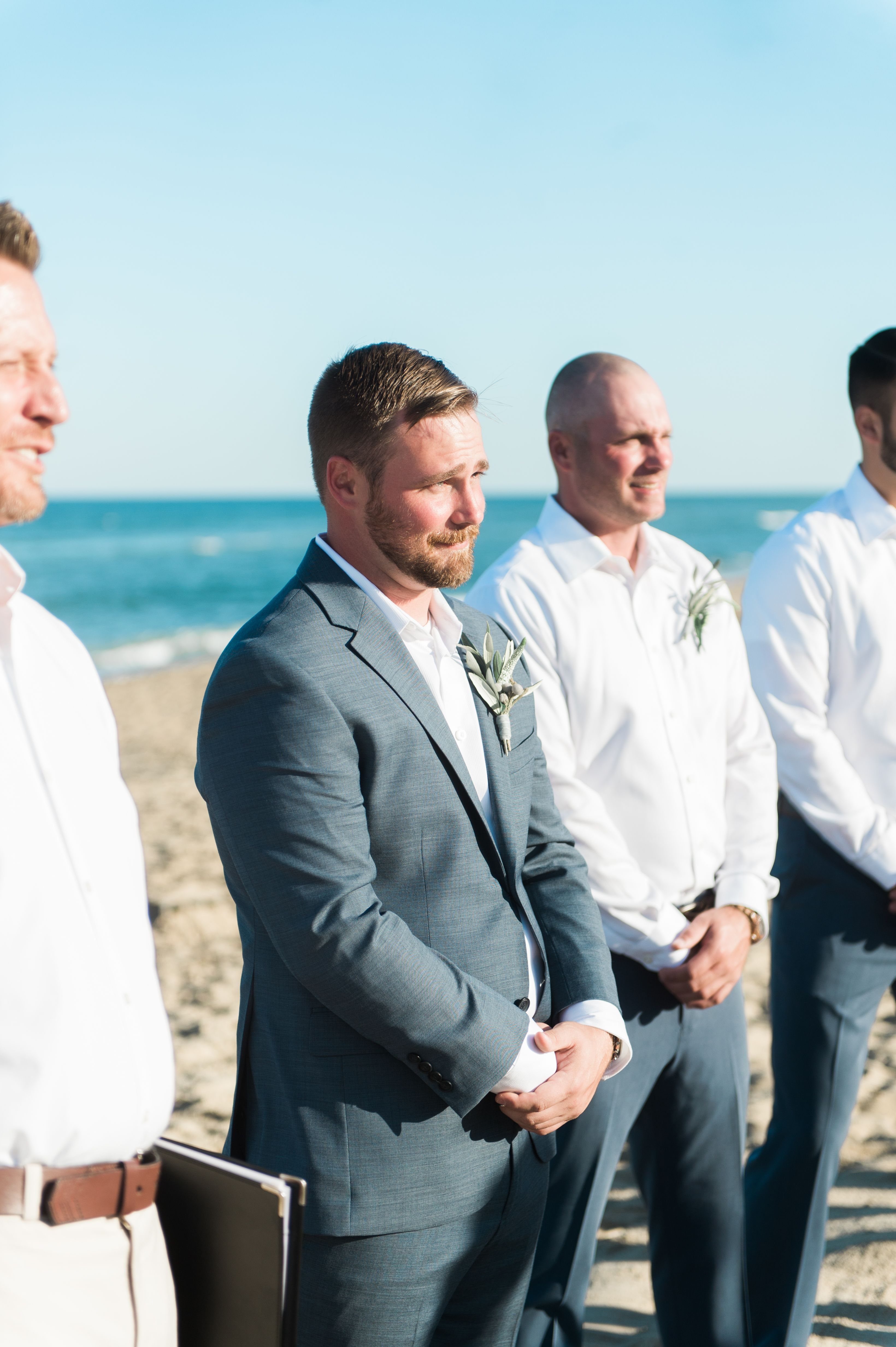 Groom and Best Man Beach Wedding by Coastyle Weddings and Events ...